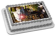 Once Upon a Time Season 5 Edible Birthday Cake Topper OR Cupcake Topper, Decor - Edible Prints On Cake (Edible Cake &Cupcake Topper)