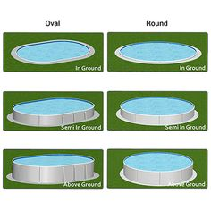 600x600-optimum-pool-types Above Ground Swimming Pools, Above Ground Pool, In Ground Pools, Outdoor Furniture Sets, Outdoor Decor, Home Decor, Decoration Home, Ground Pools, Room Decor