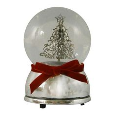 St. Nicholas Square Christmas Tree Snowglobe