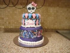 25 Monster High Cake Ideas and Designs