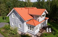 Exterior Paint Colors For House, House Colors, Outside Paint Colors, Build My Own House, Cottage Porch, House Extensions, House Roof, Big Houses, House Painting