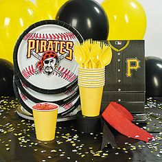 MLB® Pittsburgh Pirates™ Party Supplies
