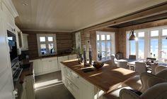 Kjøkken med utsikt