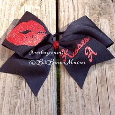 Pretty Little Liars Inspired Cheer Bow on Etsy, $9.00. OMG I NEED THIS !!!!