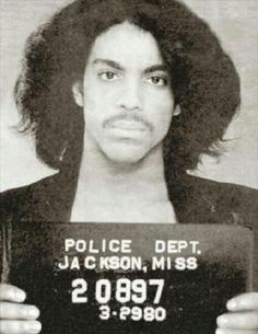 Prince Police 1999 I wanna be your lover little red corvette mugshot iphone case