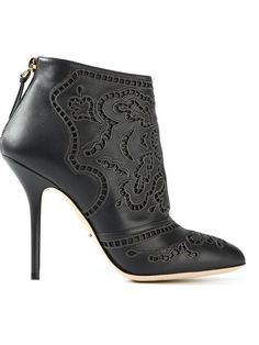 Shop Dolce & Gabbana macramé ankle boots in Spinnaker 141 from the world's best independent boutiques at farfetch.com. Over 1000 designers from 60 boutiques in one website.
