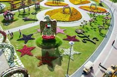 LUSH exotic garden in DUBAI