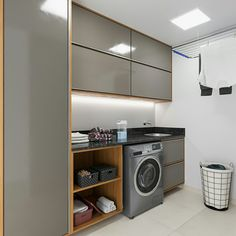 Scullery Ideas, Laundry Design, Construction Design, Interior Design Kitchen, Laundry In Bathroom, Home Decor, Home Furnishings, Laundry Room Makeover, Room Design