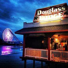 Nice View Of The Wheel From Douglass Fudge in Wildwood, New Jersey