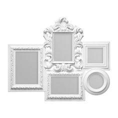Alfaro Multi Photo Frame in White
