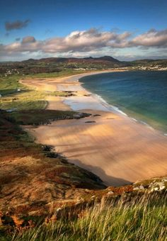 My happy-place. Donegal beach at Portsalon.