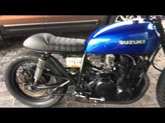 ▶ Cafe Racer Suzuki Gs750 - YouTube