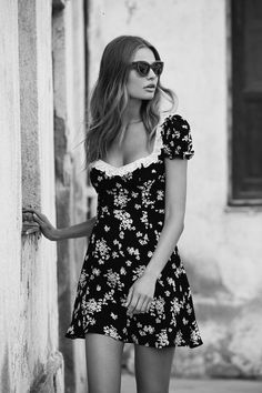 Magdalena Frackowiak Poses in For Love & Lemons' Sultry Spring 2017 Collection