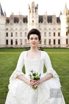 A fantastic Marie Antoinette-style wedding in the Loire Valley, France - a must-see!  More photos in Town & Country magazine