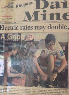 News paper road 66