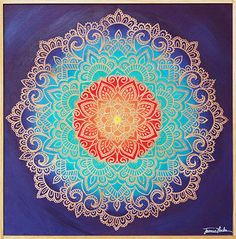 Carved Mandalas | Jamie Locke Art