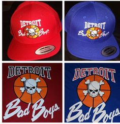 Detroit Bad Boys SnapBacks and T-Shirts in stock now @ DonnaSacs.Com