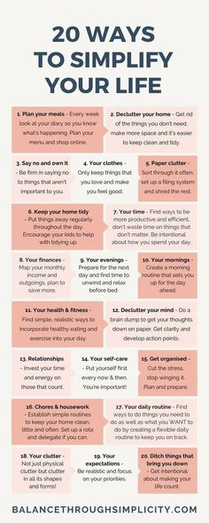 Simplifying is a great form of self care. How? It keeps you more organized causing you less stress. Sounds like a major win for my busy lifestyle! Good Habits, Healthy Habits, Vie Simple, Vie Motivation, Self Care Activities, Self Improvement Tips, Self Care Routine, How To Better Yourself, Create Yourself
