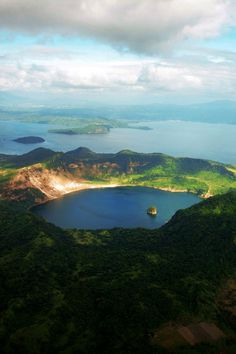 Volcano Island, Taal Crater Lake  by Jenna Genio