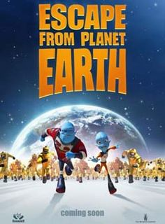 Win $25 Visa Gift Card and an Escape from Planet Earth swag bag