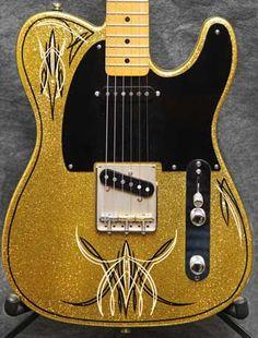 Pinstripe Guitar