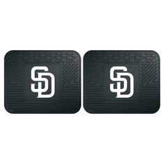 Fan Mats MLB Baseball Car Backseat Utility Mat - Set of 2 - 12342, Durable