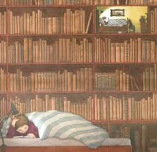 Bedtime reading by Nikolaus Heidelbach, Germany. Bedtime Reading, Reading Art, Reading In Bed, I Love Reading, I Love Books, Books To Read, My Books, Book People, Book Nooks