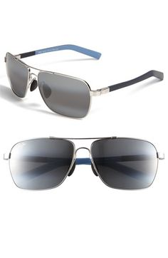 Maui Jim 'MauiFlex - Freight Trains' PolarizedPlus® 62mm Sunglasses | Nordstrom / $319