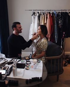 Getting Ready for the Harper's Bazaar Icons Event with Laura Mercier | Song of Style