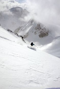 Selkirk Mountain Experience, located at the Durrand Glacier Chalet, provides skiing, climbing, snowboarding, lodging and tours!