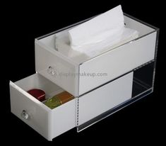 Custom acrylic cosmetic drawers organizer DMD-2784