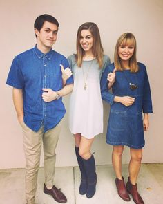 "Sadie Robertson instagram ""I 3rd wheel the cutest people on the planet on the reg. #blessed 11.1.15"""