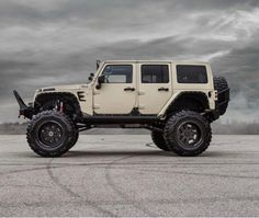 One tough Jeep.