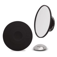 Detachable Make-up Mirror - 10x Magnifying - Black. Perfect when travelling and easy to bring. #bosign #scandinavian #lifestyle #travelsmart #makeupmirror