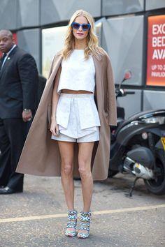 Poppy Delevigne Street Style London Fashion Week Street Fall 2014 - London Street Style - Harper's BAZAAR