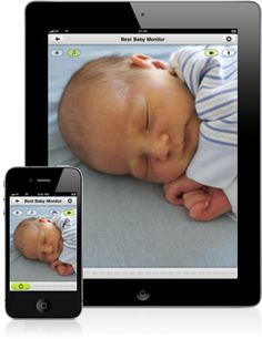App to turn two apple devices (iphones, ipads) into a baby monitor while traveling