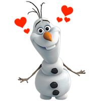 Olaf Disney's Frozen Stickers - Stickers for Facebook, Line, Path