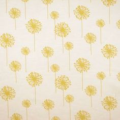 Delightable Bright Yellow by Carole Fabrics