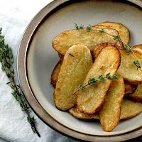 Salt and vinegar broiled potatoes | Just a good recipe