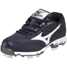 Mizuno Women's 9-Spike Finch Low G4 Softball Cleat ** Huge discounts available  : Shoes for Softball And Baseball