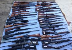 Australian Family is Arrested After Police Find 328 Firearms and Over 4 Tons of Ammo