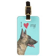 I Love my Dutch Shepherd Luggage Tag   pugs in clothes, pug in an ugg, gifts for hum #mypeoplearebetterthenyourpeople #pugpresents #gimmieallthepugglestuffs Dutch Shepherd Dog, Pug Pillow, French Bulldog Facts, Shops, Luggage Straps, Yorkie Puppy, Custom Luggage Tags, Beagle Dog