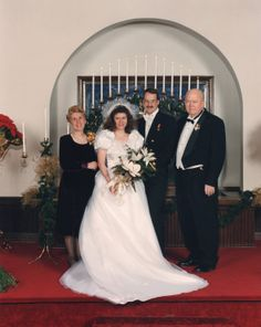 the couple with April's parents