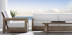 Costa Collection- Weathered Teak (Outdoor Furniture CG) | Restoration Hardware