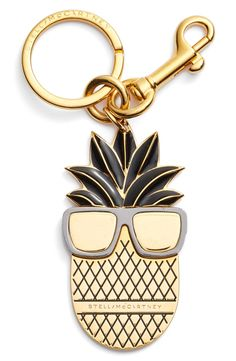 Stella McCartney 'Pineapple Sunglasses' Bag Charm