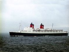 Formerly the SS Empress of Japan/Scotland for the Canadian Pacific Line, at the age of twenty-seven, when most liners are near the end of their careers, this ship was dramatically rebuilt as the Hanseatic to the German-Atlantic Line in she sailed fo Merchant Navy, Water Damage, Battleship, Titanic, Travel Style, Cruise Ships, Sailing, Restoration, Around The Worlds