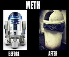 Meth - this isn't happiness™