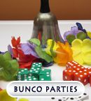 BUNCO Party Ideas...   Love Bunco!