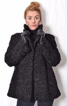 Persianer fake fur mantel