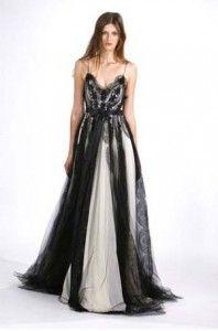 black wedding dresses photo